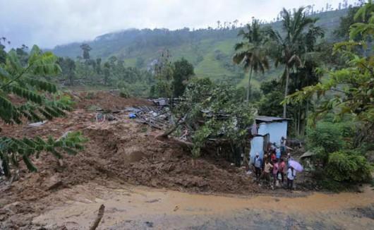 Sri Lanka - Monsunowe opady deszczu na południu i w centrum kraju 3
