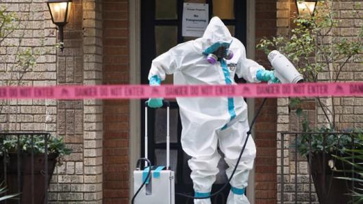 Teksas, ebola