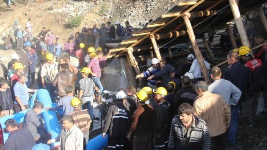 Turcja - Z powodu zawału w kopalni węgla na południu kraju 2