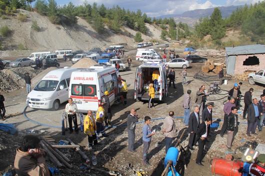 Turcja - Z powodu zawału w kopalni węgla na południu kraju 3