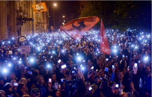 Węgry - Manifestacje