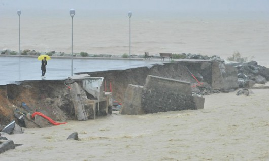 Włochy - Deszcze, osunięcia ziemi i lawiny błotne 17