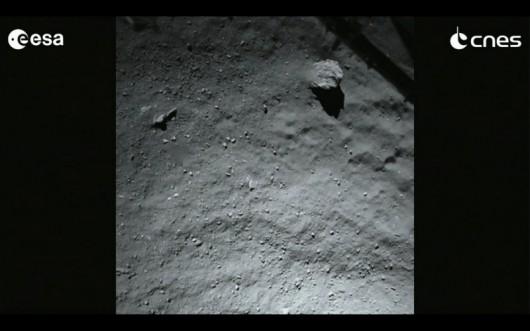 Tak wygląda powierzchnia komety