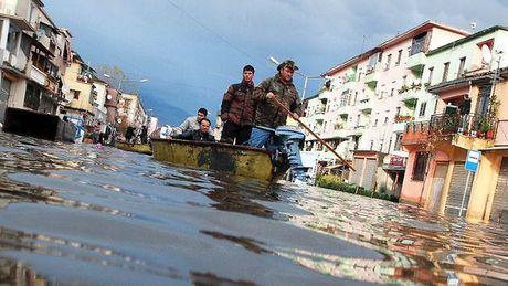 Albania- Ulewne deszcze