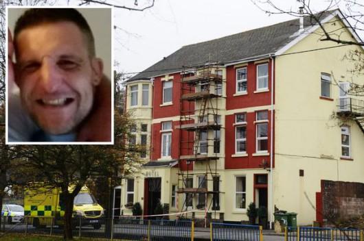Argoed, UK - 34-letni kanibal zjadał nieżyjącą kobietę w hotelu dla ubogich