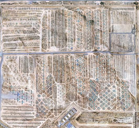 Arizona, USA - Cmentarzysko samolotów na pustyni 2