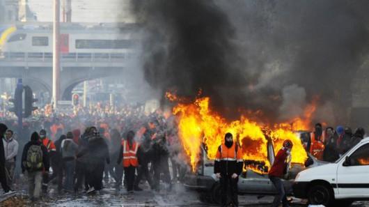 Belgia - Masowe demonstracje z powodu planów zwiększenia wieku emerytalnego z 65 do 67 lat 5