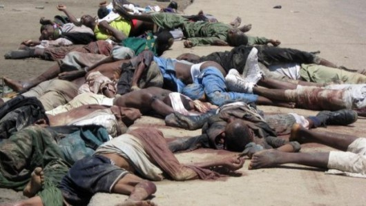 Borno, Nigeria - Boko Haram zabili w brutalny sposób 48 handlarzy rybami 2