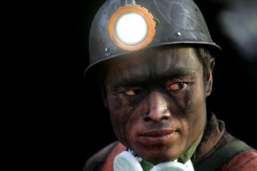 Chiński górnik