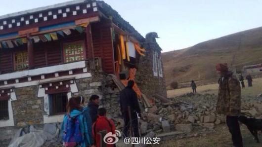 Chiny - Trzęsienie ziemi o sile 5.9 w skali Richtera w prowincji Syczuan 3