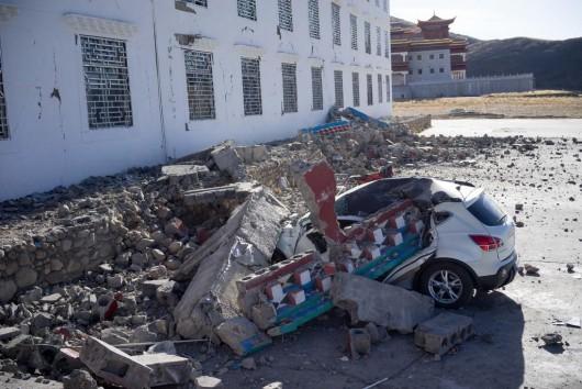 Chiny - Trzęsienie ziemi o sile 5.9 w skali Richtera w prowincji Syczuan 4