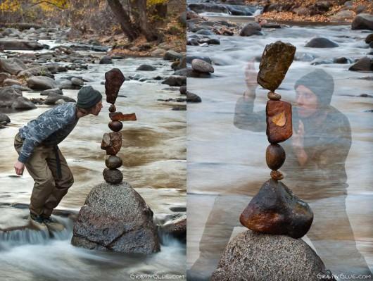 Ciekawa technika układania kamieni bez spoiwa 15