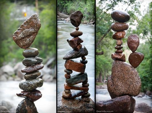 Ciekawa technika układania kamieni bez spoiwa 22