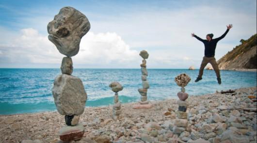 Ciekawa technika układania kamieni bez spoiwa 23