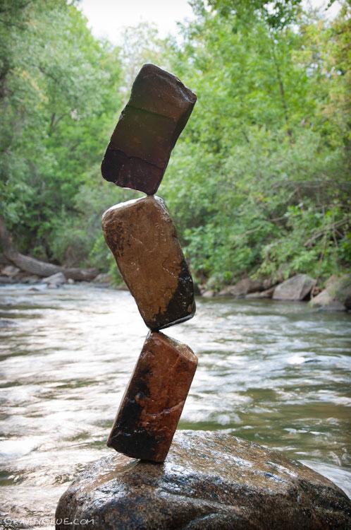 Ciekawa technika układania kamieni bez spoiwa 7