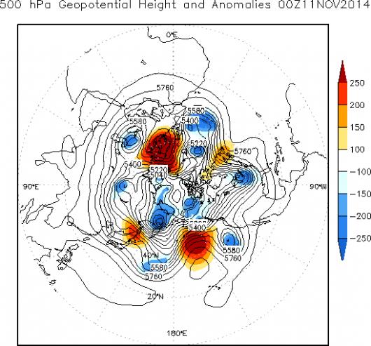 Drugi rok z rzędu występuje ten sam wzór pogodowy na półkuli północnej 2