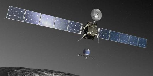 ESA - Lądownik Philae oddzielił się od Rossety