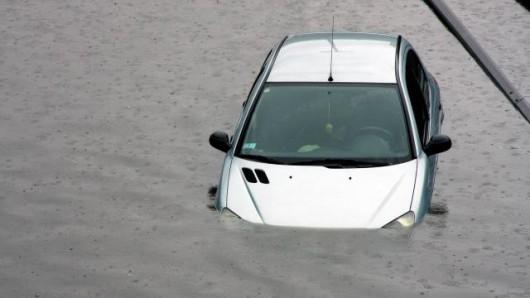 Francja - Burze i ulewny deszcz na południowym-wschodzie kraju 1