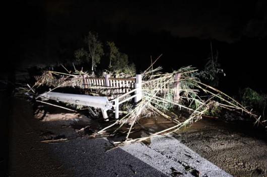 Francja - Burze i ulewny deszcz na południowym-wschodzie kraju 2