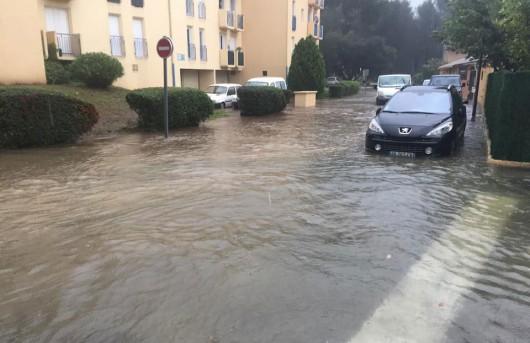 Francja - Burze i ulewny deszcz na południowym-wschodzie kraju 5