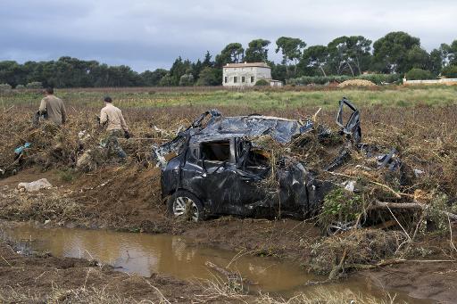 Francja - Burze i ulewny deszcz na południowym-wschodzie kraju 7