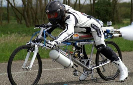 Francja - Pobity został rekord prędkości jazdy na rowerze 1