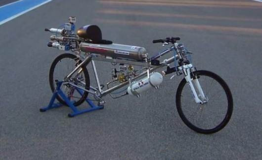 Francja - Pobity został rekord prędkości jazdy na rowerze 2