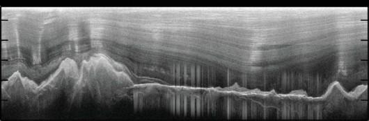 Góry Gamburcewa pod grubą pokrywą lodu
