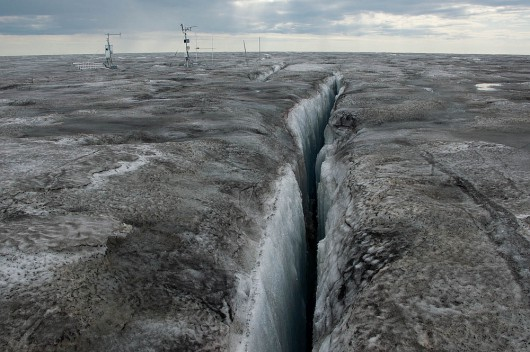 Grenlandia - Czarny lód