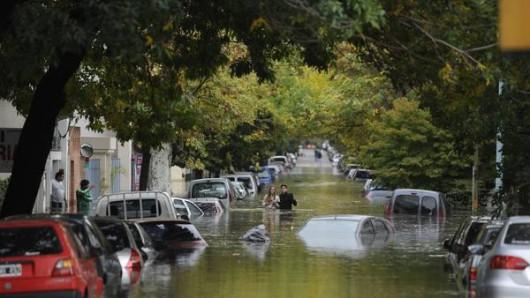 Hiszpania - Ulewny deszcz