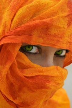 Irak - Zielonokona dziewczyna