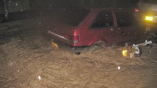 Kolumbia - Potężna burza i całe miasto Fusagasuga pod wodą 4