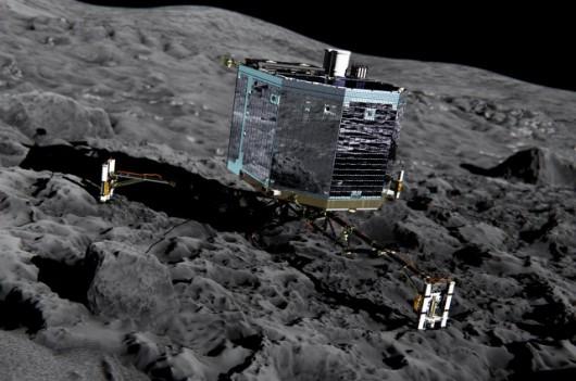 Lądownik Philae - zdjęcie ilustracyjne