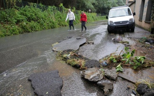 Liguria, Włochy - Kolejna powódź, w 12 godzin lokalnie spadło 200 lmkw 1