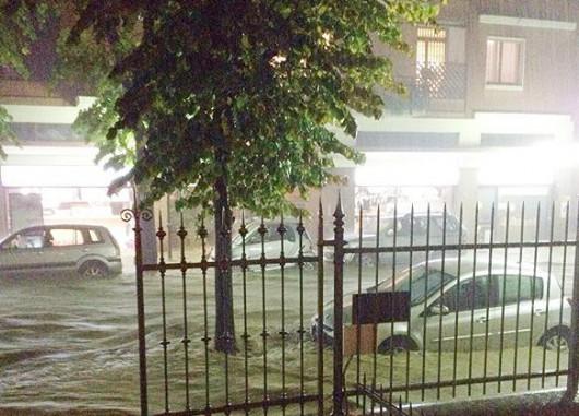Liguria, Włochy - Kolejna powódź, w 12 godzin lokalnie spadło 200 lmkw 2