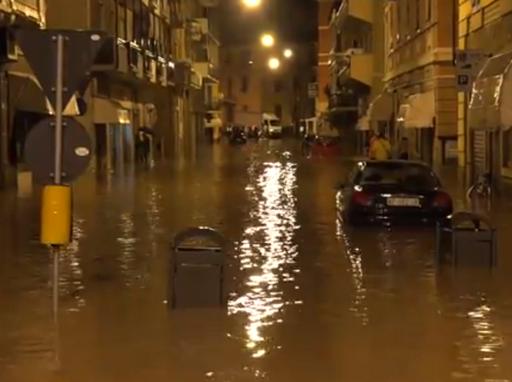 Liguria, Włochy - Kolejna powódź, w 12 godzin lokalnie spadło 200 lmkw 4