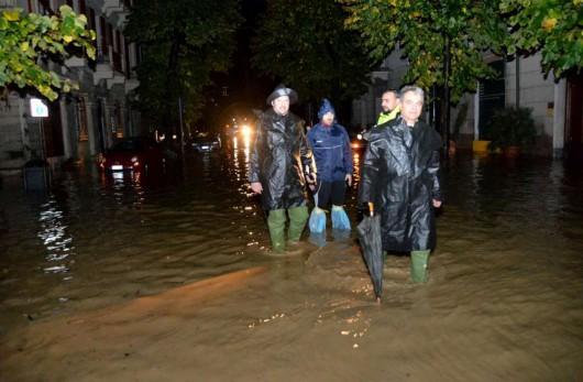 Liguria, Włochy - Kolejna powódź, w 12 godzin lokalnie spadło 200 lmkw 6