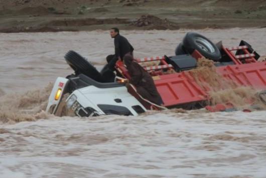 Maroko - Wyschnięte koryta rzek napełniły się wodą 3