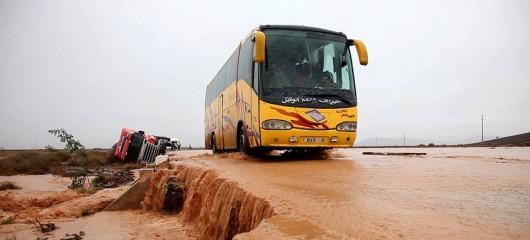 Maroko - Wyschnięte koryta rzek napełniły się wodą 4