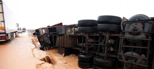Maroko - Wyschnięte koryta rzek napełniły się wodą 5