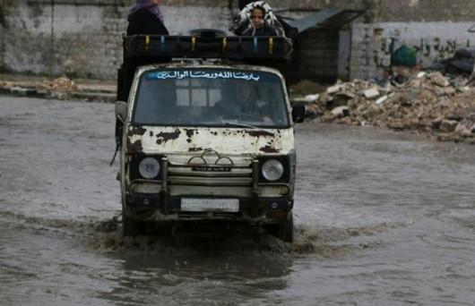 Maroko - Wyschnięte koryta rzek napełniły się wodą 6