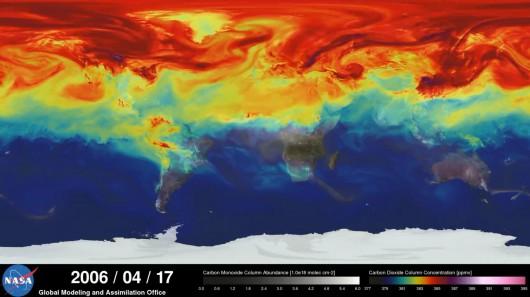 NASA- Emisja CO2-Model
