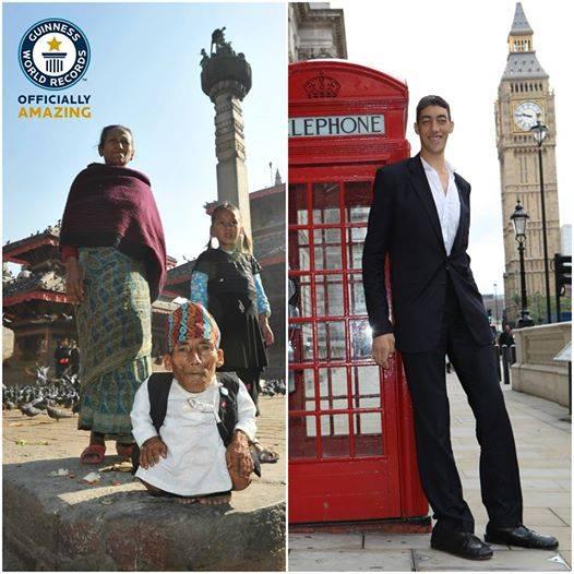 Największy i najmniejszy człowiek świata 6