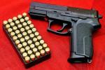 Pistolet i amunicja - WikiPedia
