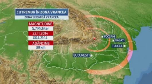 Rumunia - Trzęsienie ziemi 5.7