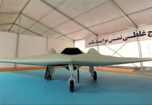 Skopiowany dron RQ-170 - Iran