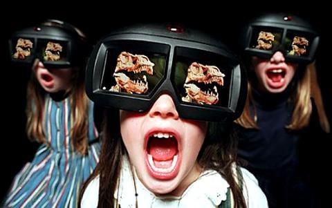 Technologia wyświetlania obrazu 3D może powodować zaburzenia wzroku i równowagi u dzieci