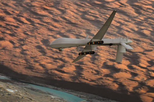 Teraz Predatory są rutynowo uzbrajane w dwie rakiety powietrze-ziemia Hellfire. W 2001 roku był to eksperyment