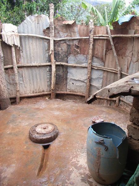 Toaleta w Afryce 3