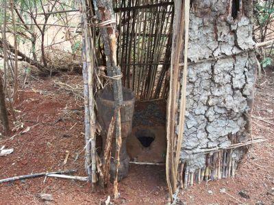 Toaleta w Afryce